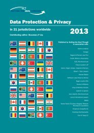 Data Protection & Privacy 2013 - ELIG Attorneys at Law