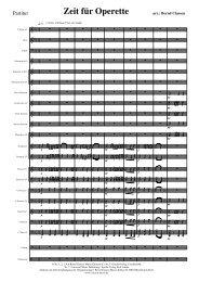 KN 12 Zeit für Operette Pdf-Partitur
