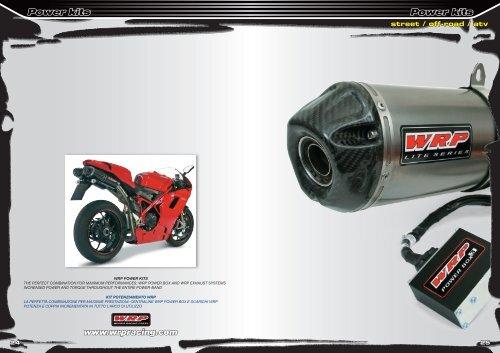 Power kits Power kits www.wrpracing.com - MotoXSPEED