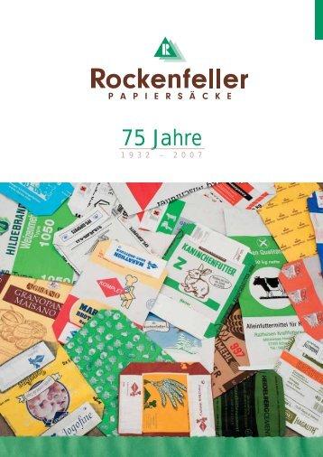 Vom Papier zum Sack - Papiersackfabrik Alfred Rockenfeller Gmbh
