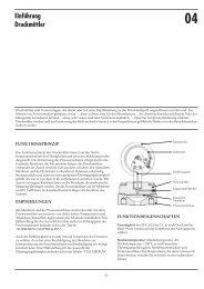 Übersicht und Auswahlempfehlungen - DRUCK & TEMPERATUR ...