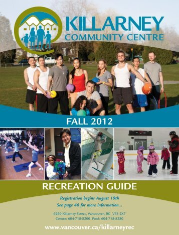 FALL 2012 RECREATION GUIDE - City of Vancouver