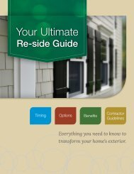 to download Your Ultimate Re-side Guide - James Hardie