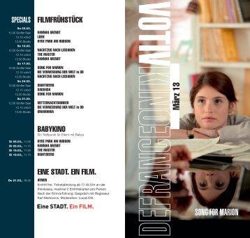 März 13 SONG FOR MARION - Votivkino