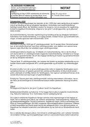 2. Bilag 2. Opfølgning på tilsyn 2009 vedr. de kommunale sociale ...
