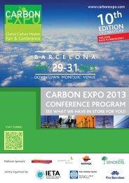 Conference Program Overview - International Emissions Trading ...
