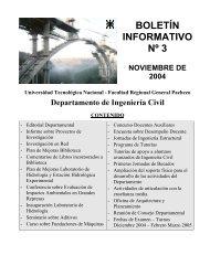 Boletín Informativo N° 3 - UTN FRGP - Universidad Tecnológica ...