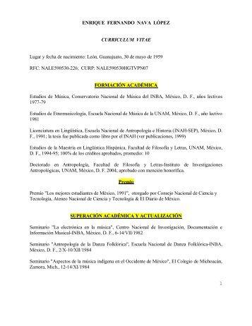 Enrique Fernando Nava López - Junta de Gobierno UNAM