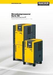 Skruekompressorer Serie SX - KAESER Kompressorer