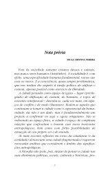 Nota prévia Nota prévia - Instituto de Filosofia - Universidade do Porto