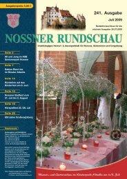241. Ausgabe - Nossner Rundschau