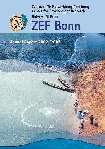 Annual Report 2002/2003