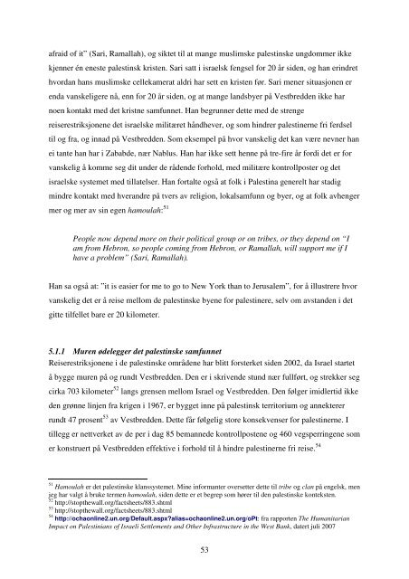 DET HELLIGE LAND – UTEN KRISTNE? - DUO - Universitetet i Oslo