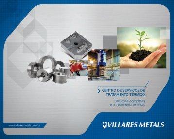 Soluções completas em tratamento térmico. - Villares Metals