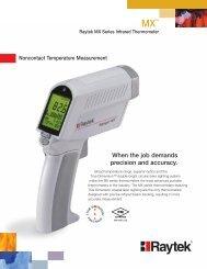 Raytek MX Series Infrared Thermometer