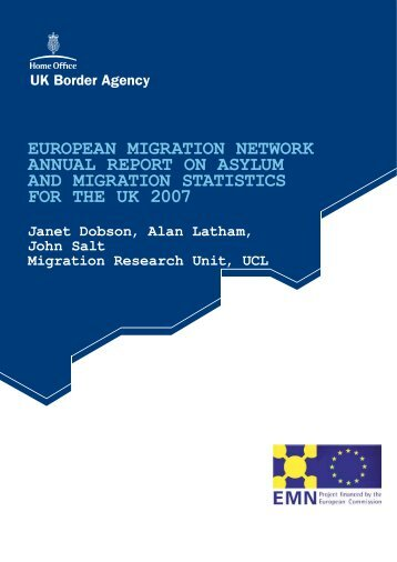 european migration network annual report on asylum and migration ...