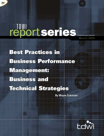 Best Practices in Business Performance Management ... - Olap.it