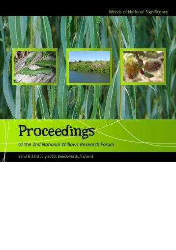 Proceedings FINAL WEB 230910.pub - Weeds Australia