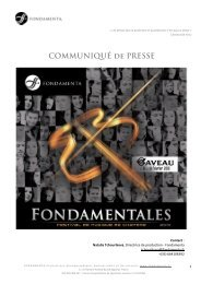 COMMUNIQUÉ de PRESSE - Radio France
