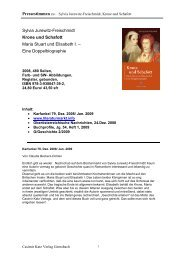 Sylvia Jurewitz-Freischmidt Krone und Schafott Maria Stuart und ...