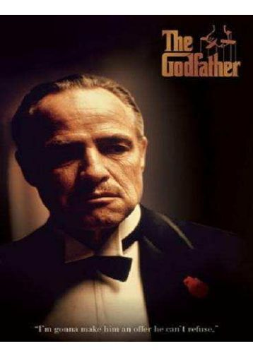 book review about the godfather by mario puzo The godfather is a best selling novel by mario puzo read a review of the novel here.
