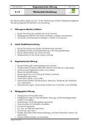 2.1.9 Pflichtenheft Schulleitung - Schule Muolen