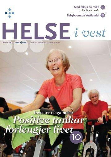 2009-01_Helseivest_web - Helse Vest