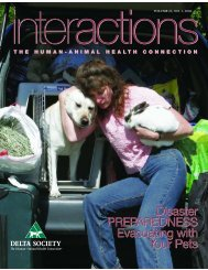 Delta Society article: Companion Animals in ... - Land of PureGold