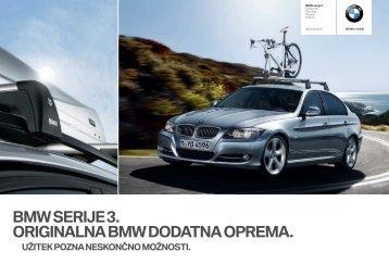 BMW SERIJE . ORIGINALNA BMW DODATNA OPREMA.
