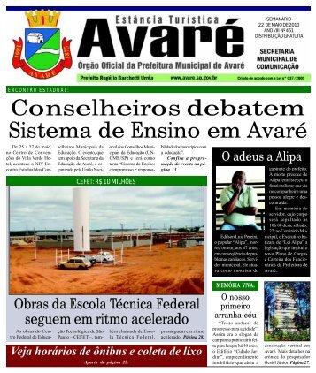Conselheiros debatem Sistema de Ensino em Avaré - Câmara ...