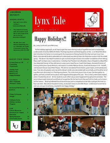 Volume 1, Issue 2 - December 2009 - Lindenwood University ...