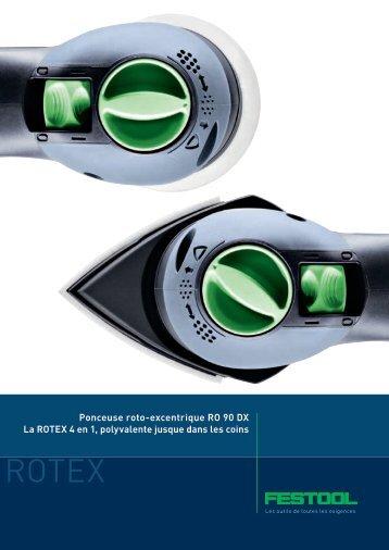 Ponceuse roto-excentrique RO 90 DX La ROTEX 4 en 1 ...