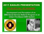 Social Services Referral Program - Gathering of Eagles
