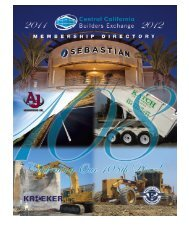 Central California Builders Exchange - Village Profile