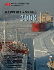 2008 - Great Lakes Pilot Authority, Canada