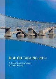 D-A-CH TAGUNG 2011 - SGEB
