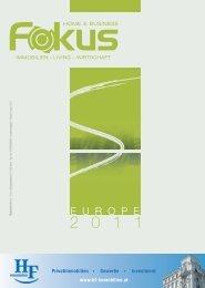 Europe 2011 - Fokus