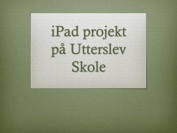 Anette Vestergaard (pdf) - Uddannelsesforum 2011