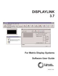 DISPLAYLINK 3.7 - Colorado Time Systems