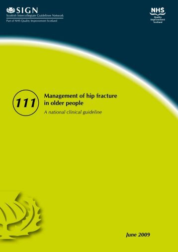 Management of hip fracture in older people