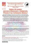 SABATO 26 MAGGIO - Podistica Solidarietà - Page 2