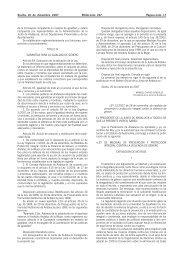 LEY 13/2007, de 26 de noviembre, de medidas de prevención y ...
