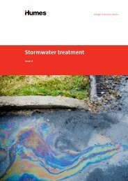 Stormwater treatment brochure (PDF 1MB) - Humes