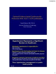 Optimal Evidence-based Cardiovascular Protection ... - RM Solutions