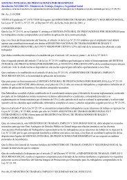 SISTEMA INTEGRAL DE PRESTACIONES POR DESEMPLEO ...