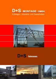 D+S MONTAGE GMBH - ds-industriebau.de