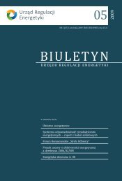 Biuletyn nr 5 - Urząd Regulacji Energetyki