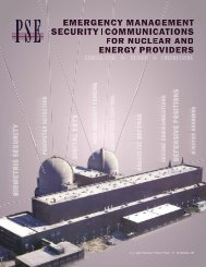 Security and Communications for Nuclear and Energy Providers