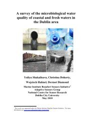 A survey of the microbiological water quality of coastal and ... - DCU