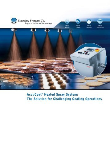 AccuCoat® Heated Spray System - Spraying Systems Co.